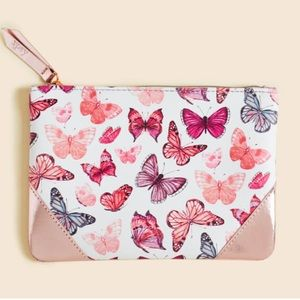 ipsy Bags - 🆕 Ipsy Butterfly empty cosmetics zippered bag
